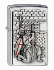Zippo Collector themes Crusade With Sword
