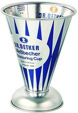 Dr.Oetker Back-Helfer Messbecher 0,5 Ltr. Nostalgie
