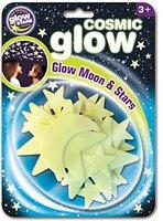 Brainstorm Ltd Cosmic Glow Moon & Stars