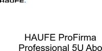 Haufe Verlag ProFirma Professional (5 User) (DE)