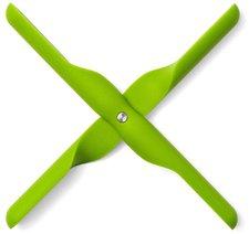 Menu Untersetzer Propeller grün
