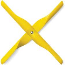 Menu Untersetzer Propeller gelb