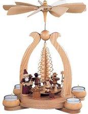 Müller Kleinkunst 1- stöckige Bogenpyramide Bescherung (34 cm)