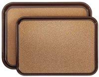 Contacto Kunststofftablett braun 45,5 x 34 cm