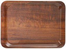 Contacto Serviertablett Nussbaum-Dekor 46x36 cm