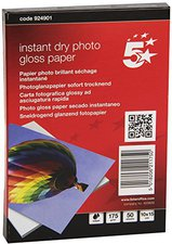5-Star Premier Instant Dry, 10 x 15 cm, 175g/qm, hochglanz (924901)