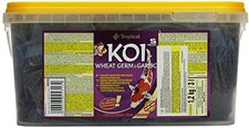 Tropical Koi Wheat Germ & Garlic Pellet s (mini) (3 Liter)