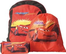 United Labels Rucksack Set Cars 3-teilig