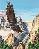 Dimensions Malen nach Zahlen Soaring Eagle
