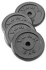 York Fitness Hantelscheibe 5,0 kg (4x)