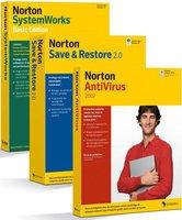Symantec Norton Antivirus 2007 + Save & Restore 2 + SystemWorks Basic Edition (3 User) (Win) (FR)