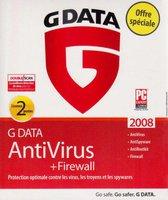 Gdata AntiVirus + Firewall 2008 (2 User) (Win) (FR)