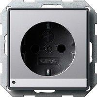 Gira SCHUKO-Steckdose mit LED-Orientierungsleuchte (1170203)