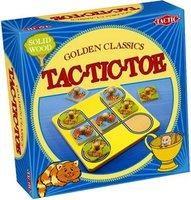 Tactic Games Golden Classics Tac Tic Toe (englisch)