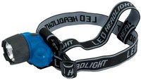 Draper 1W LED Head Lamp (3 x AAA)