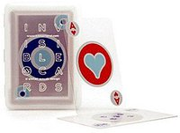 Kikkerland Unsichtbares Spielkartendeck