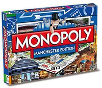 Winning Moves Monopoly Manchester Edition (englisch)
