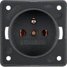 Berker Steckdose mit Schutzkontaktstift (0961852505)
