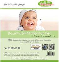Odenwälder Moltontücher 2er Pack (40x40cm)