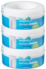 Sangenic Nursery Essentials Triple pack cassette 0mths +