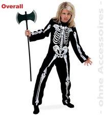 Gurimo-Tex Kinderkostüm Overall Skelett