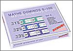 Schubi Verlag Mathe-Dominos Zahlensprünge Set A