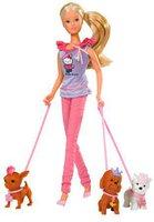 Steffi Love Hello Kitty Puppe mit feschen Hündchen
