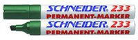 Schneider Pen Permanent-Marker 233 grün