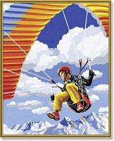 Schipper Malen nach Zahlen Paraglider
