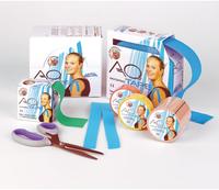 Diaprax Kinesiologisches Aku Tape 5 m x 5 cm Haut Rolle (1 Stk.)