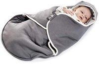 Wallaboo Babytrage Sling Baumwolle grey