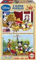 Educa Disney Mickey Mouse - Mickey Mouse Club House (2x50 Teile)