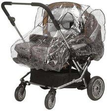 Playshoes Regenverdeck für Zwillingskinderwagen