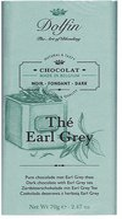 Dolfin Zartbitter-Schokolade mit Earl Grey Tee (70 g)