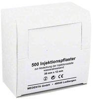 Medenta Injektionspflaster 38 x 12 mm (500 Stk.)