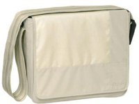 Lässig Messenger Bag Patchwork Beige