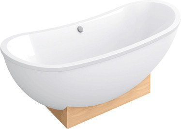 Villeroy & Boch My Nature Duo Badewanne Spezielle Form 190 x 80 cm (BA190NAT9W2V)