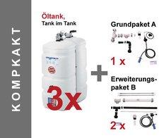 Buderus Logafix Heizöltank 750 Liter