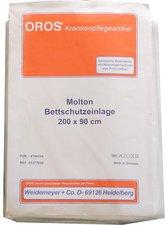Weidemeyer Molton Bettschutz Einlage 200x90cm (1 Stk.)