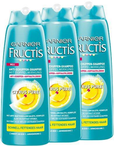 Garnier Fructis Antischuppen-Shampoo Citrus Pure (250 ml)
