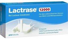 Pro Natura Lactrase 12000 Fcc Kapseln (30 Stk.)