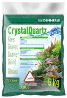 DENNERLE Kristall-Quarzkies Moosgrün 5kg