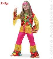 Fritz Fries & Söhne Kinderkostüm Hippie Girl