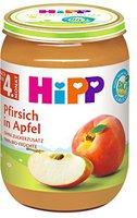 Hipp Fruchtbrei: Apfel- Pfirsich 190g