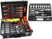 Famex Universal Werkzeugkoffer mit Steckschlüsselsatz 752-50