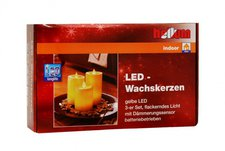 Hellum LED Wachskerzen (572056)
