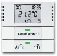 Busch-Jaeger Raumtemperaturregler Heiz-/Kühlbetrieb (6124-84)