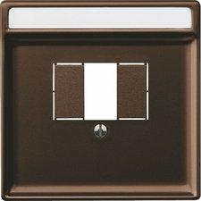Merten Zentralplatte für Fernmelde-Anschlussdose TAE (297815)