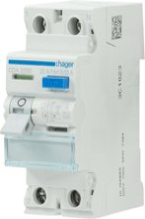 Hager FI-Schutzschalter 2P 25A 30mA (CDA225D)