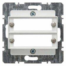 Berker Zentralplatte für 2 D-Subminiatur Steckverbinder (147009)
